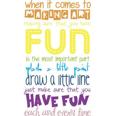 Craft Room Wall Quote – FREE Printable!
