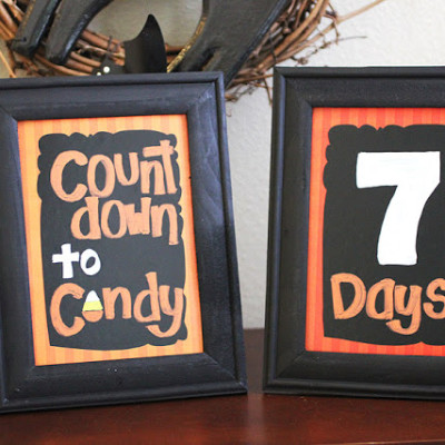 Countdown to Candy Frames