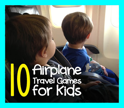 10 Airplane Travel Games for Kids