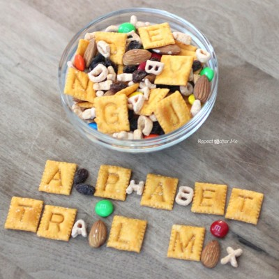 Alphabet Trail Mix