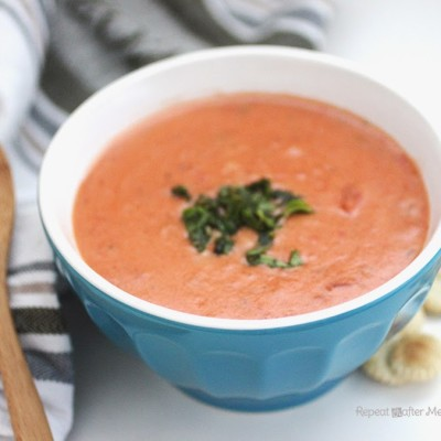Creamy Crock Pot Tomato Soup