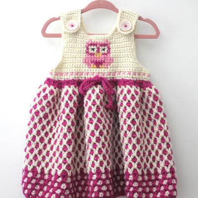 Yarnspirations 2015 Baby Lookbook: Crochet Garden Lattice Jumper & GIVEAWAY!