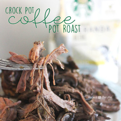 Crock Pot Starbucks Coffee Pot Roast