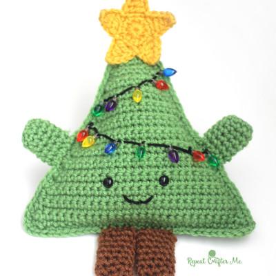 Cuddly Crochet Christmas Tree