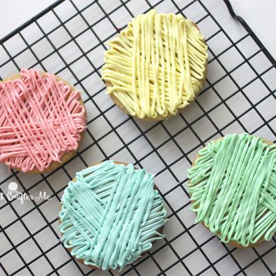 Yarn Ball Cookies