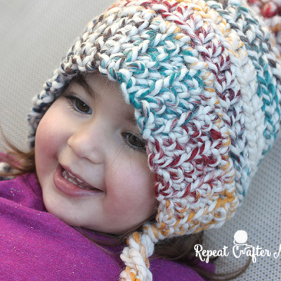 Crochet Hudson Hat and Mittens