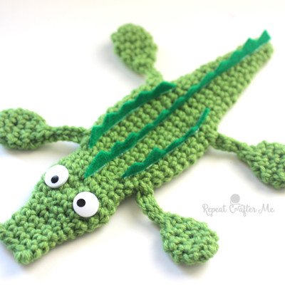 See You Later Crochet Alligator