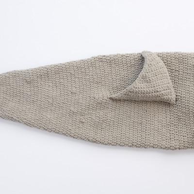 Shark Crochet Snuggle Sack from Yarnspirations
