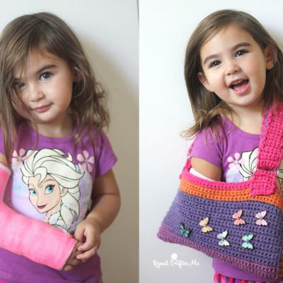 Crochet Cast Sling