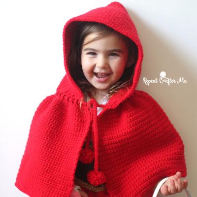 Crochet Little Red Riding Hood Cape