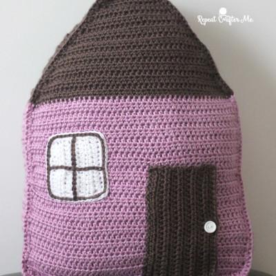 Caron Cozy Cottage Crochet Pillow