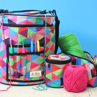 Athena's Elements Yarn Storage Crochet Organizer Set