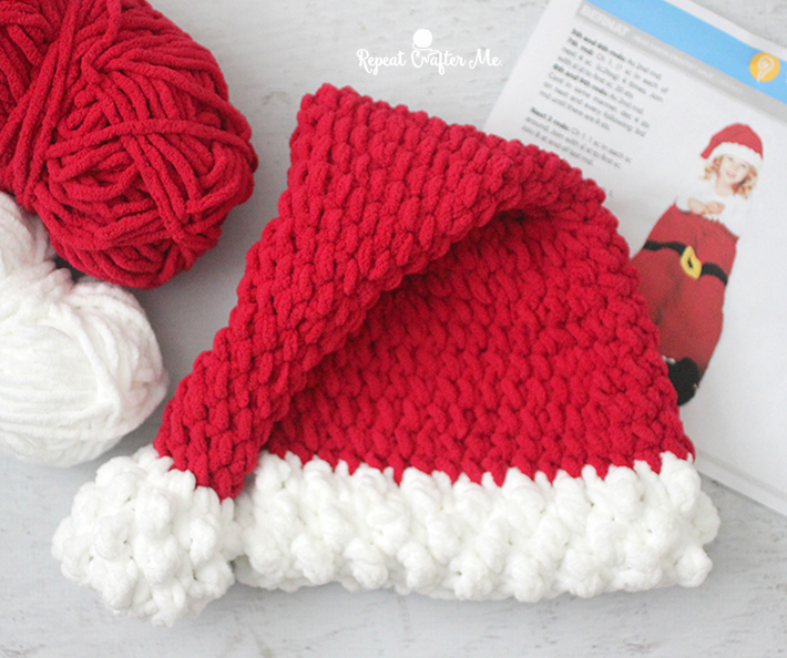 """Click on """"View Pattern"""" for the Dear Santa Crochet Sack and scroll to the  end of the pattern PDF where you will see the Hat Pattern listed! b28a5d00e5e"""