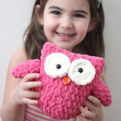 Crochet Plush Owl