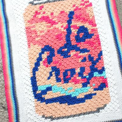 La Croix Crochet C2C Blanket