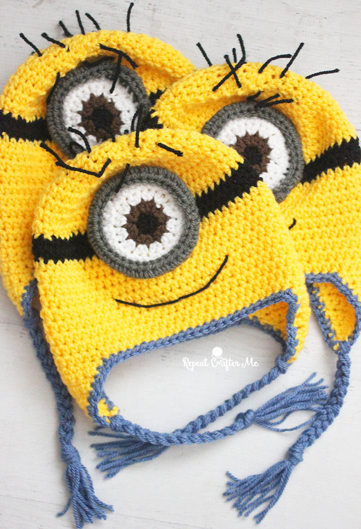 I received a cease and desist letter from Universal Studios for the  immediate removal of my crochet Minion hat from my blog. Totally  understandable. 4fb16992f12c