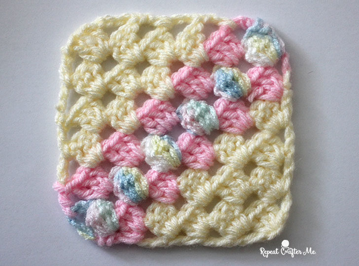 How To Crochet Corner To Corner Using The Granny Stitch Repeat