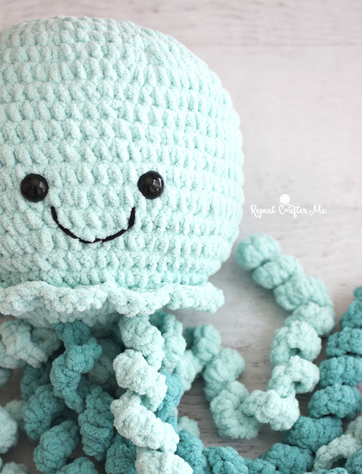 Giant Crochet Jellyfish Repeat Crafter Me