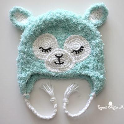 Crochet Llama Hat