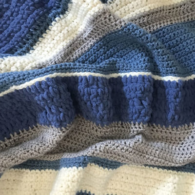 Winter Mix Crochet Blanket