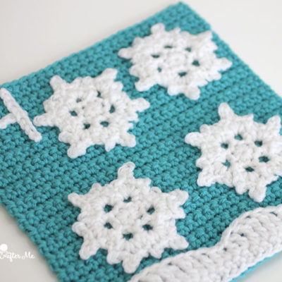 4 Snowflakes – Crochet Quiet Book Page 4