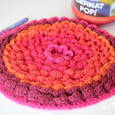 Pop! Petals Blanket CAL