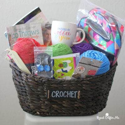 Big Crochet Basket Giveaway!