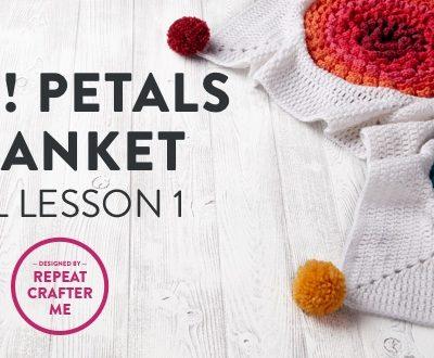Pop! Petals Blanket CAL Lesson 1: The Flower Motif
