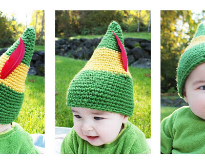 Buddy the Elf Crochet Hat