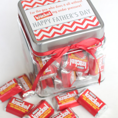 Krackel Candy Father's Day Gift