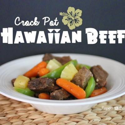 Crock Pot Hawaiian Beef