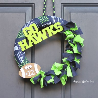 Football Team Wreath