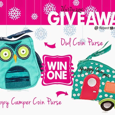 Thirty-One Coin Purse Giveway