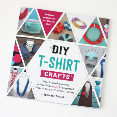 DIY T-Shirt Crafts Book Release and Giveaway!