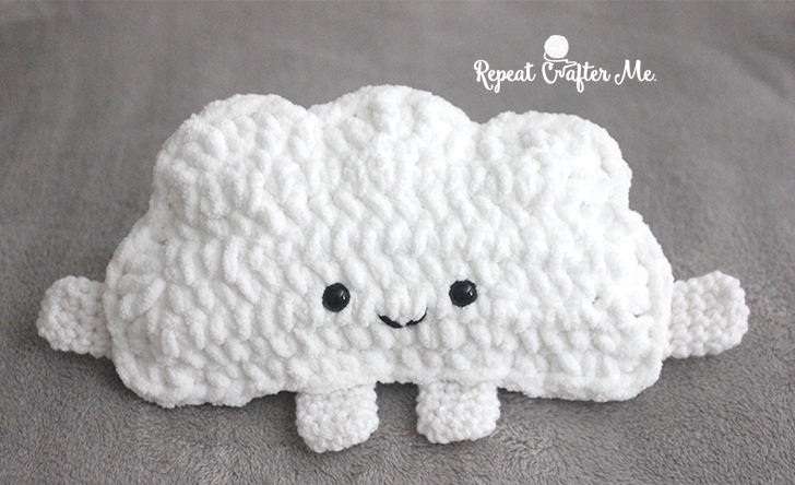 Cuddly Crochet Cloud Repeat Crafter Me