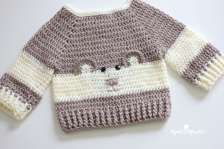Teddy Top / DROPS Baby 3-19 - Free knitting patterns by DROPS Design | 485x728