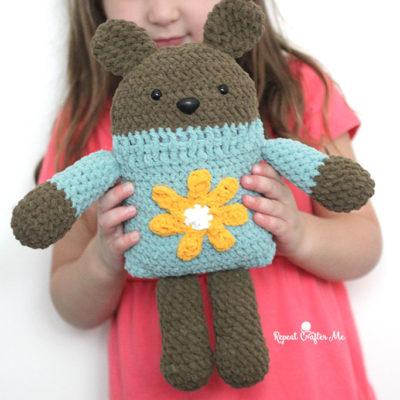 Bernat Crochet Square Bear