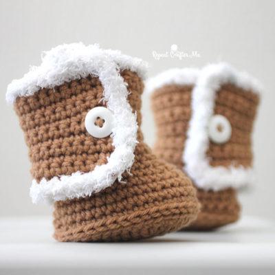 Crochet UGG style Booties