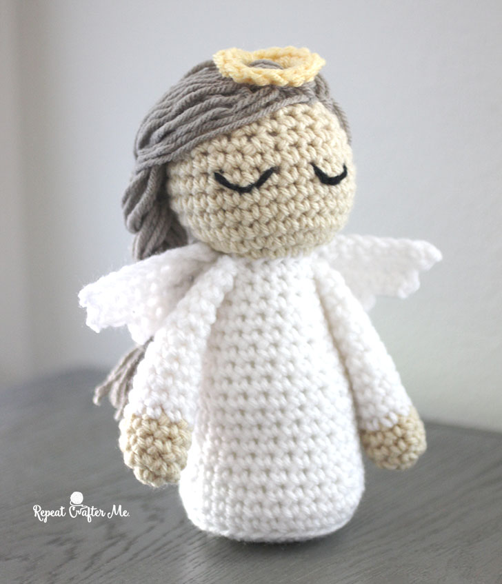 Crochet Angel Pattern Repeat Crafter Me
