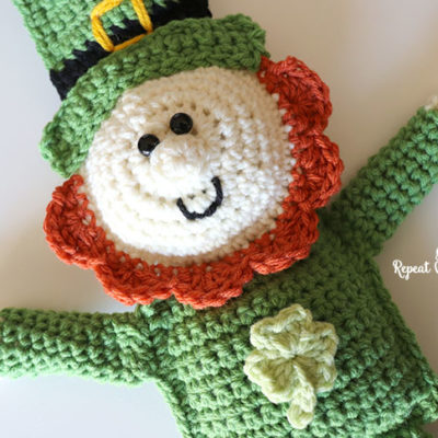 Crochet Leprechaun Cuddle Buddy