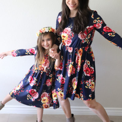 PatPat Matching Dresses and Crochet Flower Crown