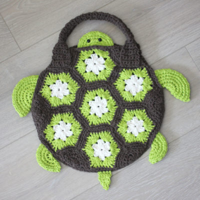 Crochet Sea Turtle Tote