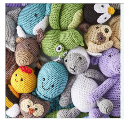 Crochet Cute Critters Book