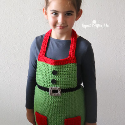 Crochet Elf Apron