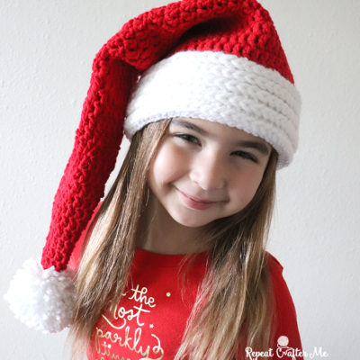 Easy Crochet Santa Hat