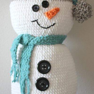 Bernat Giant Crochet Snowman