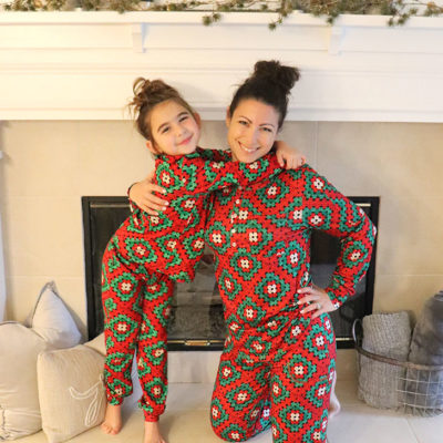 Christmas Granny Square Pajamas from Shinesty
