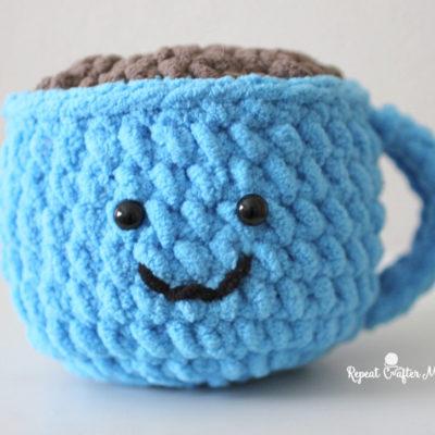 Crochet Coffee Cocoa Mug Amigurumi