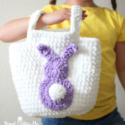 Easy Easter Crochet Basket