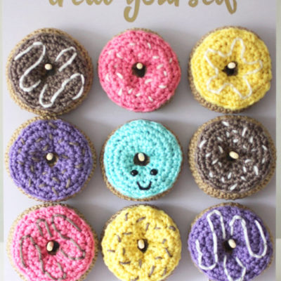 Crochet Donut Pattern and Party